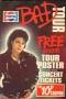 Pepsi BAD Tour Promo Foldout Brochure/Poster (UK)