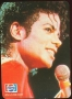 Pepsi BAD Tour '88 Promo Competition Card To Win Concert Tickets 4/4 (Spain)