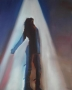 Pepsi Commercial Silhouette Oil Painting By Samantha Wendell (1980's)