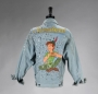 Peter Pan Neverland Blue Levi's Jacket Signed By Michael
