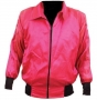 Beat It Pink Satin Jacket Worn By Michael (1990s)