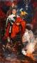 Portrait Of Michael As A Futuristic Knight By Ralph Cowan (1991)