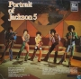 Portrait Of Michael Jackson/Jackson 5 Commercial LP Album (Holland)