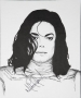 Portrait Print Of Michael In Remember The Time Outfit Signed By Michael (1996)