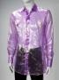 Purple Long-Sleeve Shirt Worn By Michael Jackson (2001)