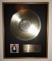 Off The Wall RIAA Gold Award For The Sale Of 500.000 Copies Of The LP Album In USA