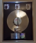 Bad RIAA Multi Platinum Award For The Sale Of 3 Million Copies of LP/Cassette In USA