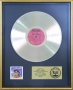 "Weird Al Yankovic's Album ""In 3-D"" RIAA Platinum Award For The Sale Of 1 Million Copies In USA"