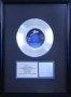 "Don't Stop Till You Get Enough RIAA Platinum Award For The Sale Of 1 Million Copies Of 7"" Single In USA"