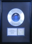 "Billie Jean RIAA Platinum Award For The Sale Of 1 Million Copies Of The 7"" Single In USA"
