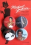 Michael Jackson 1958-2009 Official Pyramid Posters Button Badge Pack #2 *Red* (UK)