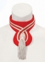 Red And White Tasseled Choker Worn By Michael (1971)