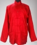 Red Silk Shirt With Asian Pattern (Date Unknown)