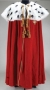 Red Velvet Costume Cape (Date Unknown)