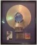 "Remember The Time RIAA Gold Record Award For The Sale Of 500,000 Copies Of The 12""/Cassette In USA"