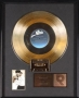 Remember The Time RIAA Gold Record Award For The Sale Of 500,000 Copies Of The Single In USA