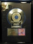 """Rock With You RIAA Platinum Award For The Sale Of 1 Million Copies Of The 7""""/Cassette Single In USA"""