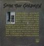 Save The Children (Original Motion Picture Soundtrack) Commercial LP Album (USA)