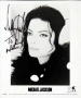 "Scream Video ""Headphones"" Promo Photo Signed By Michael *To Adam* (1995)"