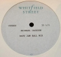 "Scream Whitfield Street Studios 1 Sided 12"" Acetate (UK)"
