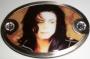 "Michael Jackson ""Sepia Photo"" Belt Buckle"
