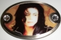 "Michael Jackson ""Sepia Photo"" Belt Buckle"