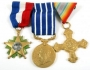 Set Of Three Gold Medals