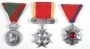 Set Of Three Military Style Medals