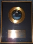 """Shake Your Body (Down To The Ground) RIAA Gold Award For The Sale Of 100,000 Copies Of 7"""" Single In USA"""