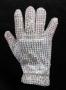 Shaquille O'Neal Custom Michael Jackson Glove (2010)