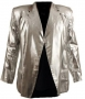 Silver Lamé Jacket Owned & Worn By Michael (2000)