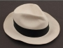 Smooth Criminal Stage Worn White Fedora (Date Unknown)