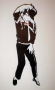 Smooth Criminal Unofficial Wall Clock (UK)