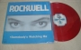 """Somebody's Watching Me (With Rockwell) Limited Edition 12"""" Single Red Vinyl (Mexico)"""