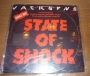 """State Of Shock (With Mick Jagger) Promo 12"""" Single (Brazil)"""