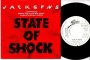 """State Of Shock (W/ M. Jagger) One Sided Promo 7"""" Single (Spain)"""