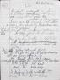 """T.S. (""""D.S."""") Partial Handwritten Lyrics #6 (1994)"""