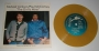 """The Girl Is Mine (With Paul McCartney) Commercial 7"""" Single *Yellow/Gold Vinyl* (Israel)"""