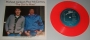"""The Girl Is Mine (With Paul McCartney) Commercial 7"""" Single *Red Vinyl* (Israel)"""