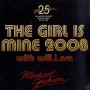"""The Girl Is Mine 2008 Commercial 12"""" Single (Europe)"""