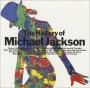 The History Of Michael Jackson Promo CD Album (Michael's Silhouette Cover) (Japan)