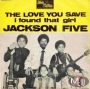 "The Love You Save  Commercial 7"" Single (France)"