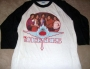 "The Jacksons 1981 Tour White ""Baseball"" Style Shirt (USA)"