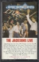 The Jacksons Live Cassette Album (USA)