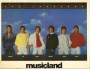 The Jacksons Musicland Double Sided Sale Sheet (USA)