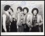 The Jacksons Promo Photo Signed By The Jacksons *To Howard* (1979)