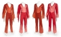 The Jacksons Red And Orange Jumpsuits Worn By Marlon And Michael Jackson (1970s)