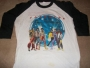 "The Jacksons Victory Tour 1984  White ""Baseball"" Shirt *Black Sleeves* (USA)"