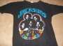 The Jacksons: '81 U.S. Tour Black T-Shirt (USA)