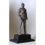 "The King Of Pop Official 11"" Silver PVC Statue (Japan)"